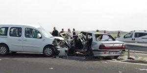 Çınar Akçomak (Berberé) yakınlarındaki trafik kazasında yaralanan Sabri Çelebi hayatını kaybetti