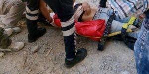 Suriyeli inşaat işçisi 3'üncü kattan düştü