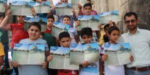 Diyarbakır'da zamansız ve mekansız kitap okuma etkinliği foto