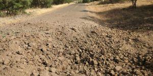 Diyarbakır Dicle Yokuşlu köyü güzergâhında yol kenarına tuzaklanan patlayıcı imha edildi