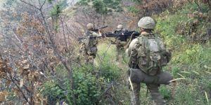 Bingöl Adaklı'da PKK'ye ait 14 sığınak imha edildi