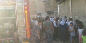 Diyarbakır Bağlar'da yangında evde mahsur kalan çocuk yaralandı