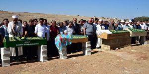 Kocaeli'de kaza yapan Erdoğan ailesi Şanlıurfa Halfeti'de toprağa verildi