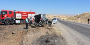Adıyaman Kahta'daki iki ayrı kazada 2 kişi yaralandı