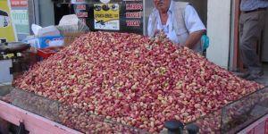 Şanlıurfa Birecik'te fıstık fiyatları 2 katına çıktı