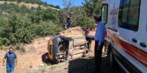 Bingöl Genç Çanakçı köyünde taksi kazası: 8 yaralı