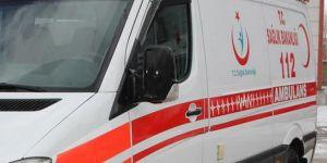 Alanya'da 2 otomobil çarpıştı: 12 yaralı