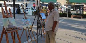 HÜDA PAR, Osmaniye'de 'Kudüs' temalı resim sergisi açıldı