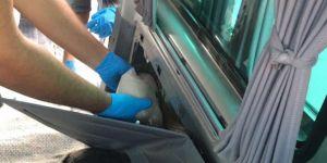 Van Edremit Kurubaş mevkiindeki uygulama noktasında 60 kilo eroin yakalandı