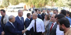Başbakan Yardımcısı Mehmet Şimşek Gaziantep Oğuzeli'nde
