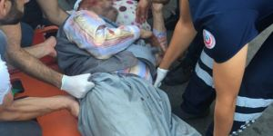 Diyarbakır Yenihal Caddesinde trafik kazası: 1 ağır yaralı