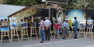 """Diyarbakır Silvan'da """"Kudüs"""" temalı resim sergisi"""