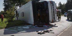 Almanya'da kaza: 44 yaralı