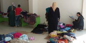 Umut Kervanı Ağrı'da 120 aileye yardımda bulundu