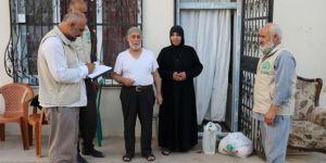 Umut Kervanı Gaziantep'te 250 aileye bayram yardımı ulaştırdı