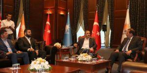 HÜDA PAR'dan AK Parti ve Saadet Partisi'ne bayram ziyareti