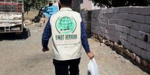 Umut Kervanı Vakfı, Çınar'da kurban eti dağıttı (2017)