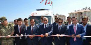 Van Erciş'te 112 acil sağlık istasyonu ve aile sağlık merkezi açıldı