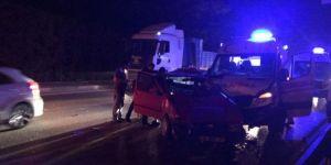 Bursa'da ambulansın karıştığı kazada 4 kişi yaralandı
