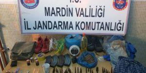 Mardin Ömerli'de mühimmat ele geçirildi