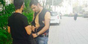 Mardin'de park uygulamasında 4 gözaltı