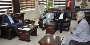 HÜDA PAR şehrin sorunlarını Belediye Başkan Vekiline iletti
