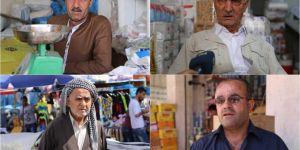 Yarın yapılacak referandumu bekleyen Erbil esnafı İLKHA'ya konuştu