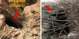 Diyarbakır Dicle 'de PKK tarafından kullanılan 4 mağara kullanılamaz hale getirildi