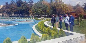 Van'da park ve bahçeler denetlendi
