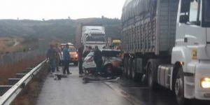 Osmaniye'de zincirleme kaza: Bir ölü 4 yaralı
