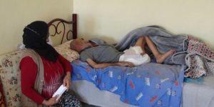 Çınar'da yatalak ve felçli hastaya yüzde yüz sağlam raporu vermişler VİDEO-FOTO