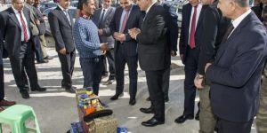Van Valisi Murat Zorluoğlu Saray'da bir dizi ziyarette bulundu