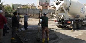 Silvan'daki okullara bakım ve onarım