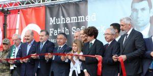 Derik'te Kaymakam Safitürk anısına yaptırılan okul açıldı