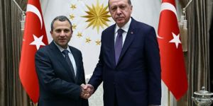 Cumhurbaşkanı Erdoğan Lübnan Dışişleri Bakanı Bassil'i kabul etti