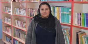 Kütüphane kurmak ve okumak küçüklük hayalimdi