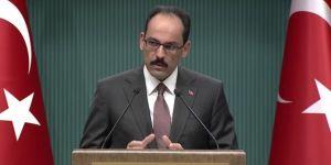 Cumhurbaşkanlığı Sözcüsü Kalın: Sarraf davası kesinlikle siyasi bir dava