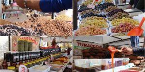 Yöresel tatlar Diyarbakır'da buluştu