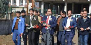 PKK tarafından katledilen öğretmen vurulduğu yerde anıldı