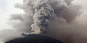 Agung Yanardağı'nda volkanik hareketlilik arttı