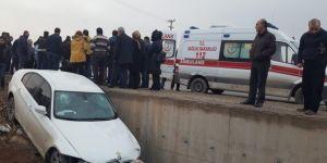 Diyarbakır Bismil'de trafik kazası: Biri ağır 5 yaralı