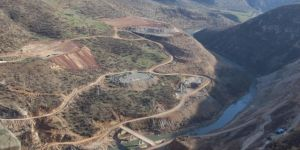 Diyarbakır Valisi Silvan Baraj şantiyesinde incelemelerde bulundu