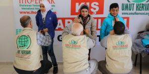 IHO-EBRAR yetim ve fakir çocukların yüzünü güldürüyor