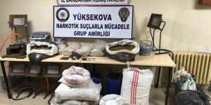 Yüksekova'da uyuşturucu imalathanesine operasyon