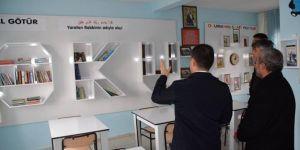 Kalp krizi sonucu hayatını kaybeden öğretmen adına kütüphane açıldı