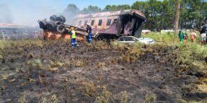 Güney Afrika'da tren kazası: 4 ölü, 100 yaralı