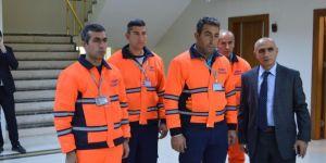 Siirt'te çalışan taşeron işçilerin kadro heyecanı