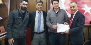 Kızıltepe'de 35 kursiyere operatörlük sertifikası verildi
