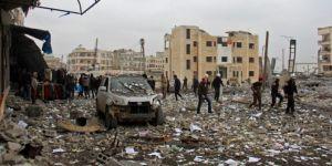 Doğu Guta'ya yönelik saldırılarda onlarca sivil hayatını kaybetti
