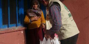 Umut Kervanı Konya'da aralıkta 91 aileye ulaştı